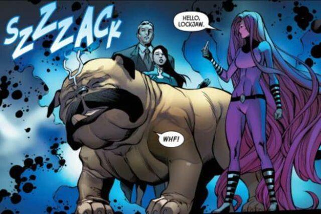 Lockjaw Marvel Comics