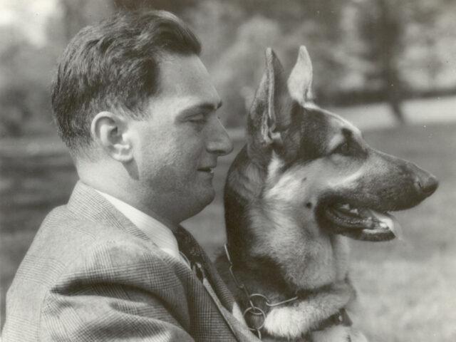Morris Franks Seeing Eye Dog Buddy
