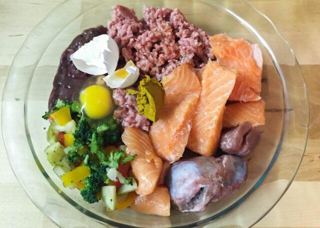 Raw Diet Dog Food