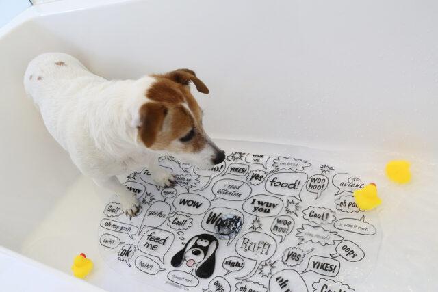 non slip bathing mat for dogs
