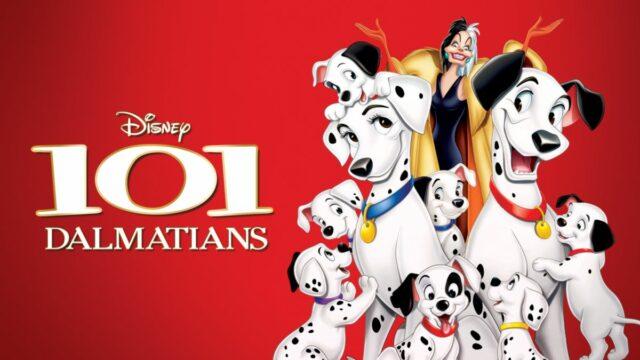 101 Dalmatians animated dog movies