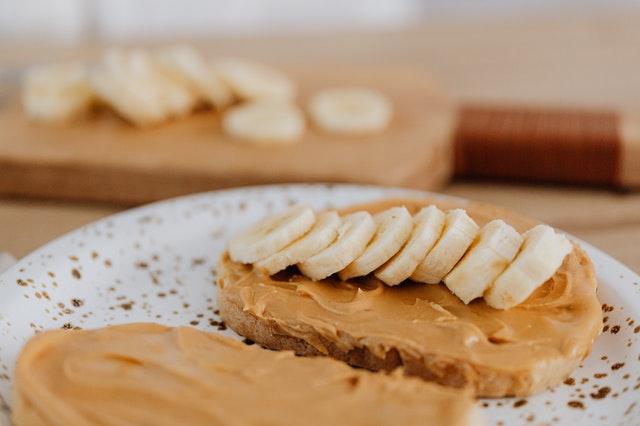 banana peanut butter healthy dog treats