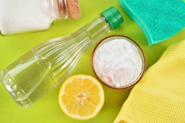 natural cleaners baking soda lemon salt shutterstock 171457127