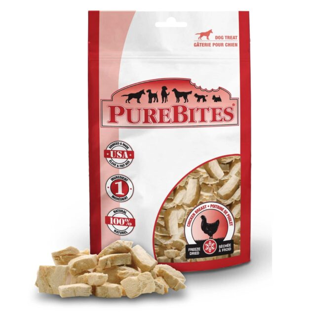 PureBites chicken breast dog treats